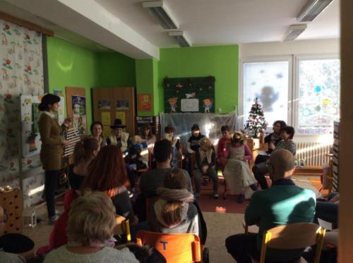 Vánoční posezení na třídách